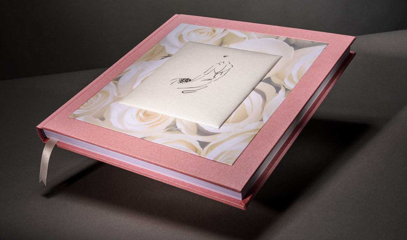 Bespoke wedding photo book