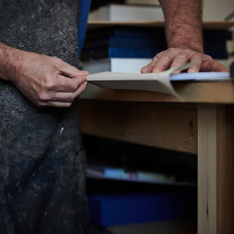Hand crafted books